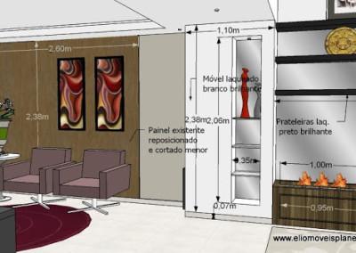 sala de vinho - painel adaptado cotado